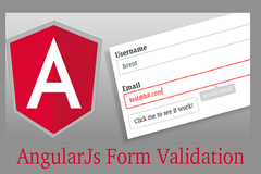 Form Validation Using Angular Validator in Ionic Framework - Basic Tutorial