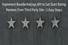 How to Implement ResellerRatings API to Get Star Rating Reviews from Third Party Site - 5 Easy Steps